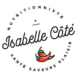 Logo - Isabelle Côté Nutritionniste